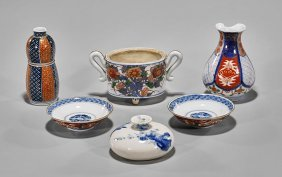 Six Various Japanese Porcelains