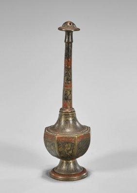 Antique Japanese Bronze Sprinkler Vase