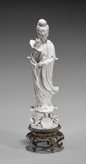 Old Chinese Blanc De Chine Guanyin