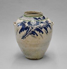 Massive Yi-style Stoneware Jar