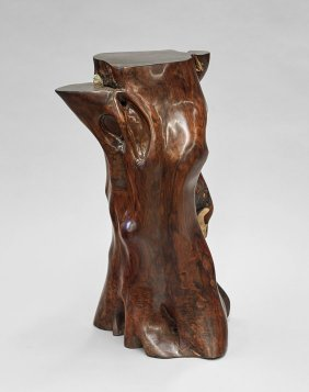Massive Chinese Rosewood Table/stand