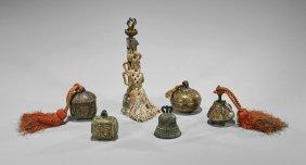 Six Old & Antique Sino-tibetan Bells