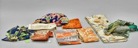 Nine Old & Antique Japanese Textiles