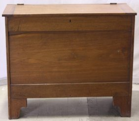 Walnut Sugar Chest