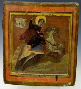 Russian Icon, St. George