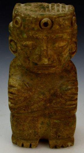 Pre-columbian Carved Stone Idol