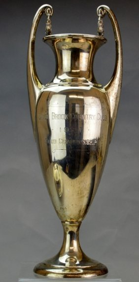 Sterling Silver Golf Trophy