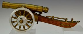 Brass Cannon Model