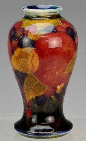 Moorcroft Vase Pomegranate