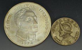 1974 20 Balboa Silver Coin Grouping