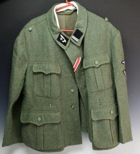 Wwii Re-enactment Nazi Ss Tunic