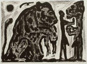 A. R. Penck 1939 Dresden - Lebt Und Arbeitet In Dub