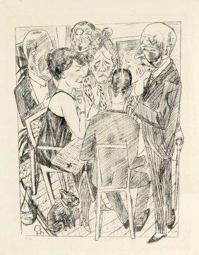 Max Beckmann 1884 Leipzig - 1950 New York - '