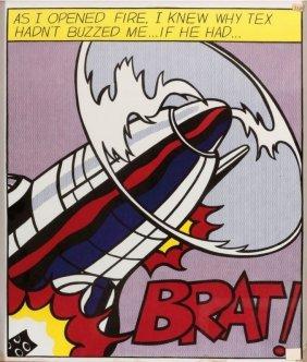 Roy Lichtenstein 1923 Manhattan - 1997 Manhat