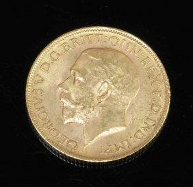 1 Sovereign Großbritannien, 1913. 916er Gg. G