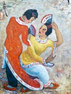 Pan Yuliang (1895-1977 China) Attributed Untitled Chine