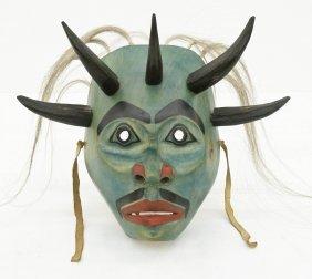 Francis Horne (b.1954 Salish) Shaman Mask