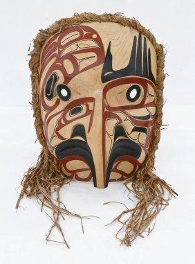 David Boxley (b.1952 Tsimshian) Eagle Spirit Mask