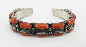Alice & Cecil Sanders Navajo Cuff Bracelet