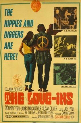 1967 [the Love-ins] Original Movie Poster, 30''x40'',