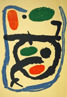Joan Miro (1893-1983 Spanish) Musee National D'art