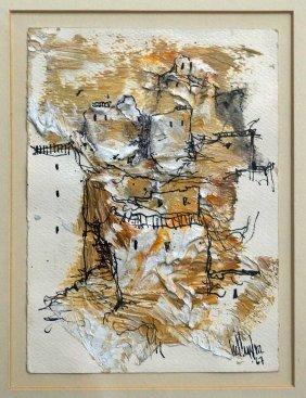 Gino Hollander (american, B.1924) Original Artwork