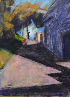 Julia Hensley (20/21st Cent. Washington) ''Alley,