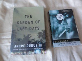2 Andre Dubus Hand Signed Books