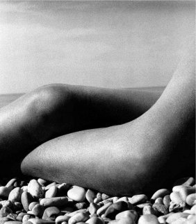 Bill Brandt - Abstract Nude Photo Gravure Plate 1958