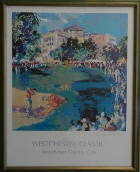 "Hand Signed Leroy Neiman ""West Chester Classic"""