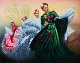 "RAFFI JACOBIAN, ""FESTIVAL DANCERS"""