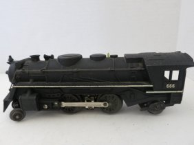 MARX STEAMER ENGINE, VINTAGE DIE-CAST TRAIN