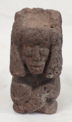 Pre-columbian Carved Pumice Stone Sculpture