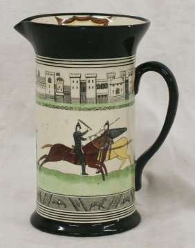 "Royal Doulton ""the Battle Of Hasting"" Jug / Pitcher"