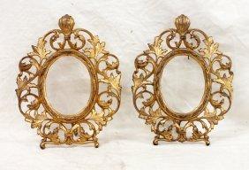 Pair Of Gilded Frames