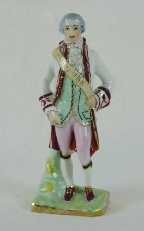 Antique Limoges Porcelain Figurine