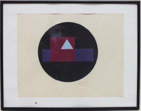 "Andrei Kliun (russian, 20th Century) ""composition"""