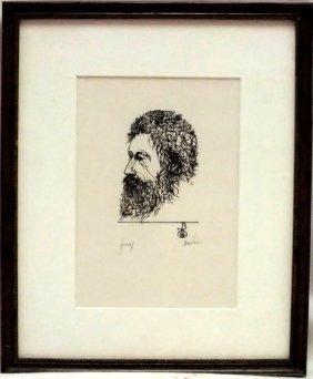 Leonard Baskin (1922 - 2000) Artist Proof