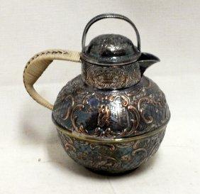 English Silverplated Teapot