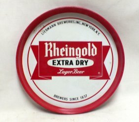 Rheingold Beer Tray