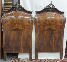 Pair Of 1800's Louis Xv Style Headboards