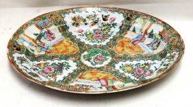 Chinese Rose Medallion Oval Platter