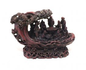 Chinese Resin Composite Sculpture