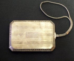 Wallace Sterling Silver Purse / Case
