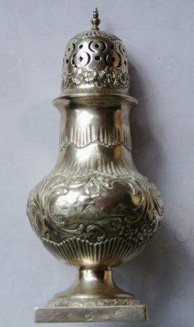 Judaica: Dutch Silver Spice Box