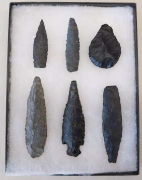 Six Spear Points
