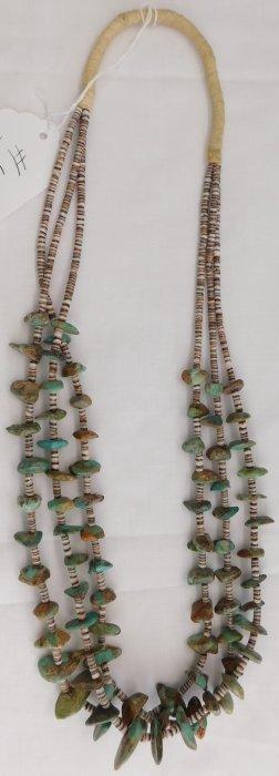 Turqouise & Heishi Necklace