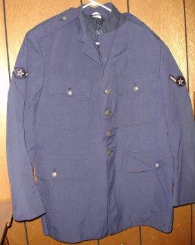 USAF Coat Dress Blue Buttoned