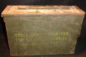 WW2 Metal Ammunition Box