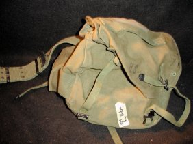 M1961 Field Pack Canvas Combat